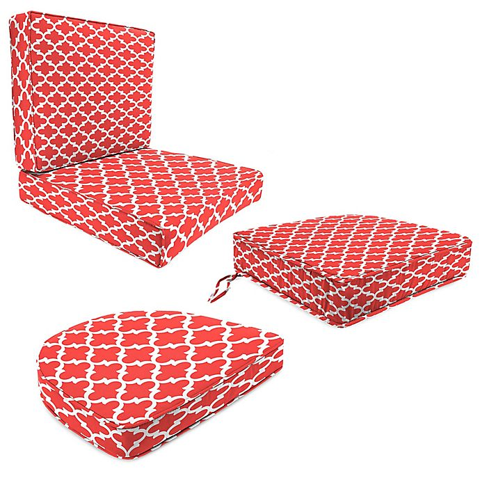 Jordan Manufacturing Fulton Calypso Outdoor Cushion And Throw Pillow