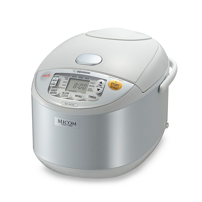 Alternate image 1 for Zojirushi Umami™ 5 1/2-Cup Micom Rice Cooker and Warmer