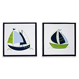 Nautica Kids® Zachary 2-Piece Canvas Wall Art