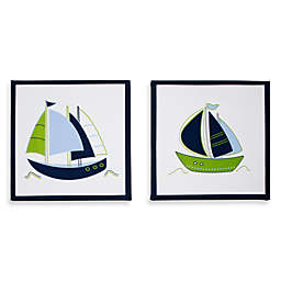Nautica Kids® Zachary 2-Piece Canvas Wall Art