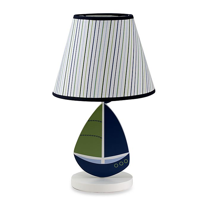 Alternate image 1 for Nautica Kids® Zachary Lamp Shade and Base