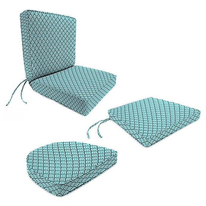 Peachy Jordan Manufacturing Lalo Oxford Outdoor Cushion Collection Inzonedesignstudio Interior Chair Design Inzonedesignstudiocom