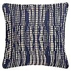 Hab Habitat Brooklyn 20-Inch Square Indoor/Outdoor Accent Pillow in Dark Blue