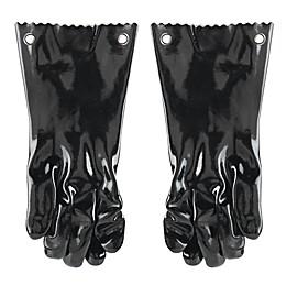 Mr. Bar-B-Q® Insulated BBQ Gloves in Black