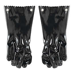 Mr. Bar-B-Q® Insulated BBQ Gloves in Black