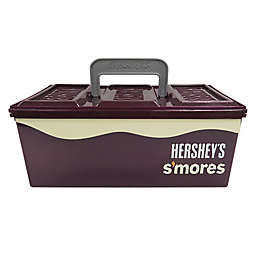 Hershey's S'Mores Caddy with Tray in Brown