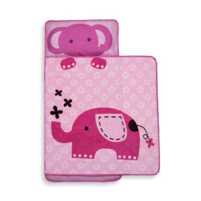 kidsline™ Nap Mat in Pink Elephant | Bed Bath & Beyond