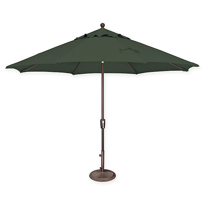 Alternate image 1 for SimplyShade® Market 11-Foot Octagon Replacement Canopy in Sunbrella® Green