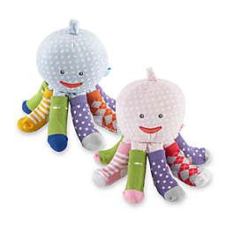 "Baby Aspen ""Mr. Sock T. Pus"" Plush Octopus Sock Set (4-Pack)"