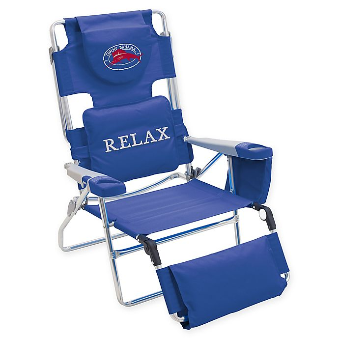 Tommy Bahama Beach Chair In Blue Bed