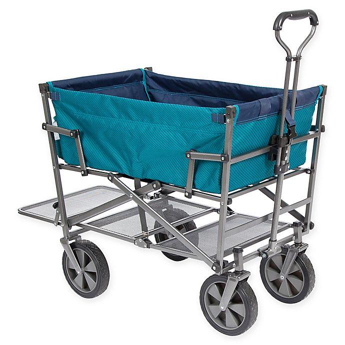 Mac Sports Double Decker Wagon in Blue  c08f51886