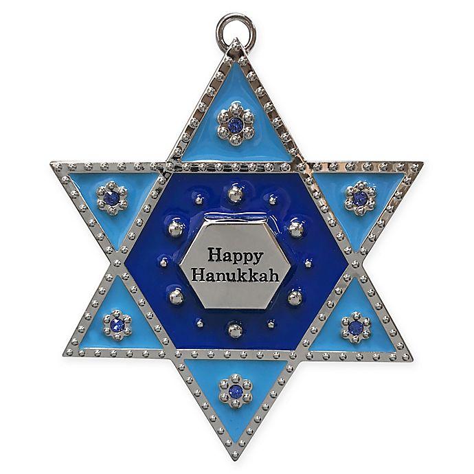Alternate image 1 for Crystals from Swarovski® Harvey Lewis™ Star of David Ornament