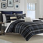 Nautica® Allston Reversible Twin Comforter Set in Navy