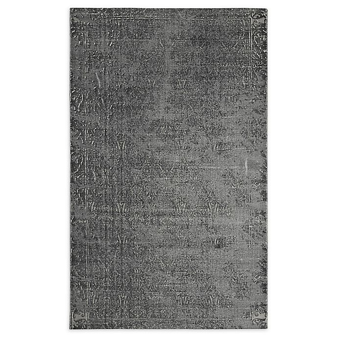 Alternate image 1 for Style Co-op Printed Stone Wash 3' x 5' Area Rug in Grey