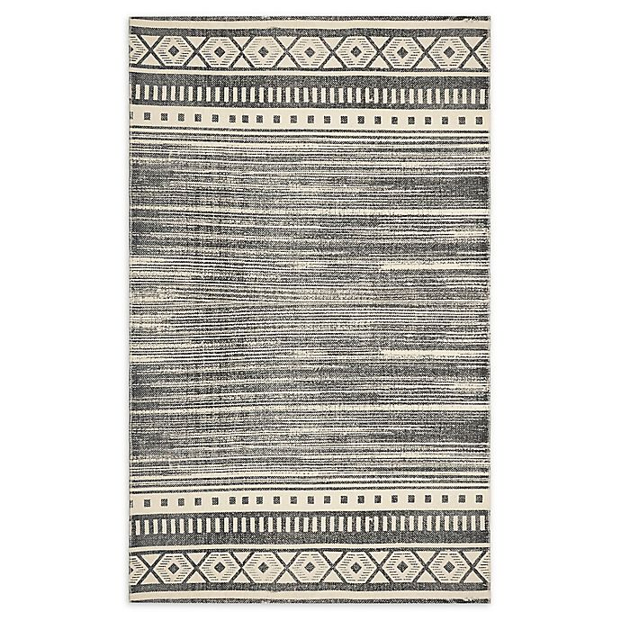 Style Co Op Aztec Printed Stone Wash 3 X 5 Area Rug In