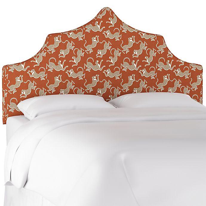 Alternate image 1 for Diane King Linen Headboard in Orange