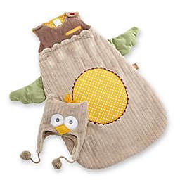 "Baby Aspen ""Little Night Owl"" Snuggle Sack and Cap"