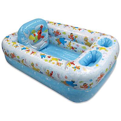 Ginsey Sesame Street Inflatable Bath Tub
