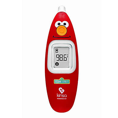 Kinsa Sesame Street Ear Thermometer in Red/White