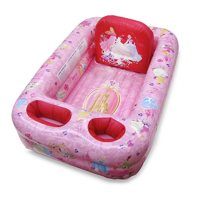 Alternate image 1 for Ginsey Disney® Princess Inflatable Bath Tub