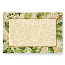 Tommy Bahama® Palmiers 30-Inch x 20-Inch Bath Mat in Green
