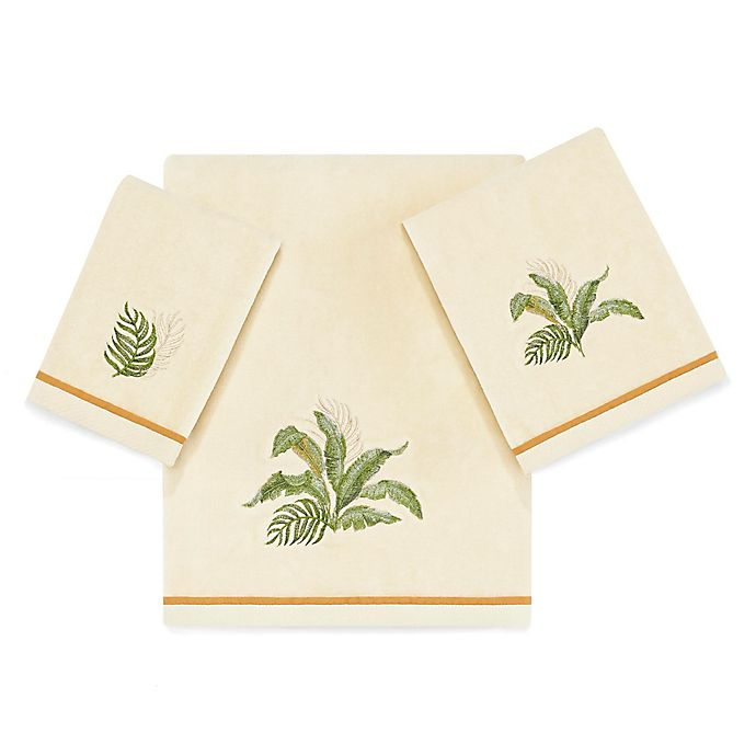 Alternate image 1 for Tommy Bahama® Palmiers Bath Towel in Natural