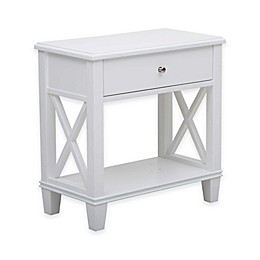 Pulaski Colton X-Frame Side Table