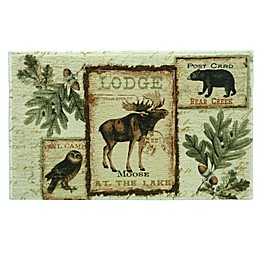 Lodge Memories Bacova Bath Rug Collection