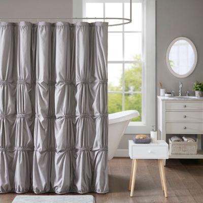 Intelligent design benny shower curtain bed bath beyond - Intelligent shower ...