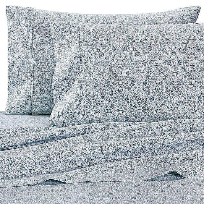 Alternate image 1 for Wamsutta® 625-Thread-Count PimaCott® Tilework Sheet Set