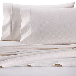 Wamsutta® PimaCott® Diamond Rope 625-Thread-Count King Pillowcase Set in Blush