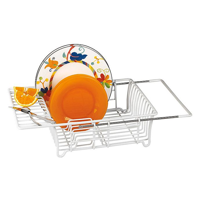 Alternate image 1 for Expandable Over-the-Sink Dish Rack