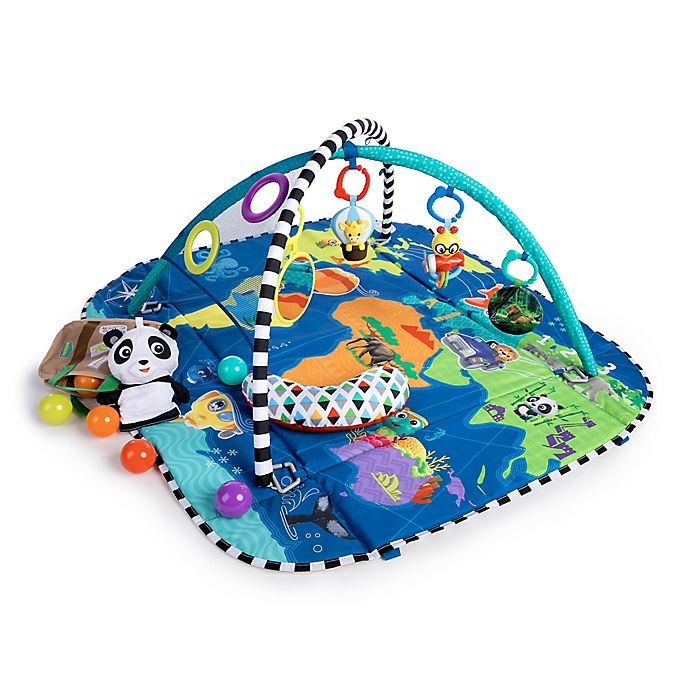 Alternate image 1 for Baby Einstein™ 5-in-1 Journey of Discovery Activity Gym™
