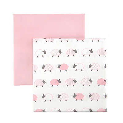 Tadpoles Counting Sheep Fitted Crib Sheets (Set of 2)