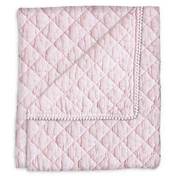Hello Spud Diamond Stonwash Quilt in Pink