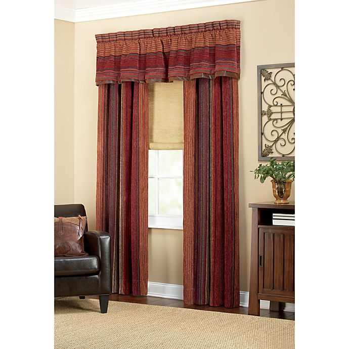 Croscill 174 Plateau Window Curtain Panels Bed Bath And