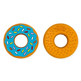 Silli Chews Blue Donut Teether Toy