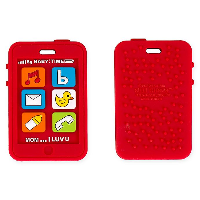 Alternate image 1 for Silli Chews Cell Phone Teether Toy