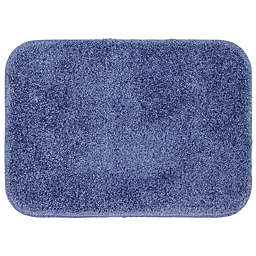 "Mohawk Home Envision Studio 34"" x 20"" Bath Mat in Dark Blue"
