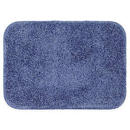 Mohawk Home Envision Studio Contour Bath Mat in Dark Blue