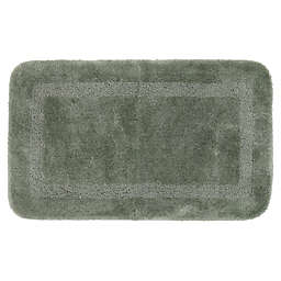 "Mohawk Home Facet 40"" x 24"" Bath Mat in Celadon"