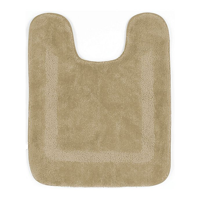 Alternate image 1 for Mohawk Home Facet Contour Bath Mat in Almond