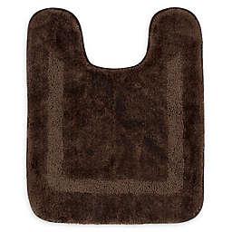 Mohawk Home Facet Contour Bath Mat in Chocolate