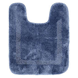 Mohawk Home Facet Contour Bath Mat in French Blue
