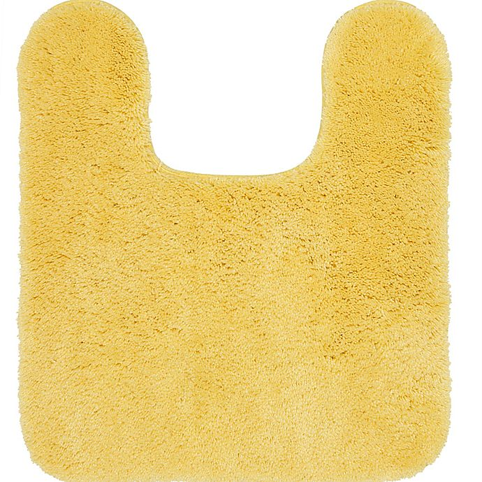Alternate image 1 for Mohawk Home New Regency 24'' x21'' Contour Bath Mat in Yellow