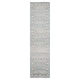 Safavieh Archive Canyon 2'2 x 8' Runner in Blue/Grey