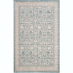 Safavieh Archive Serenity 5'1 x 7'6 Power-Loomed Area Rug in Blue/Grey