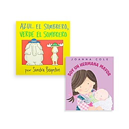 Blue Hat Green Hat Book (English and Spanish Versions)