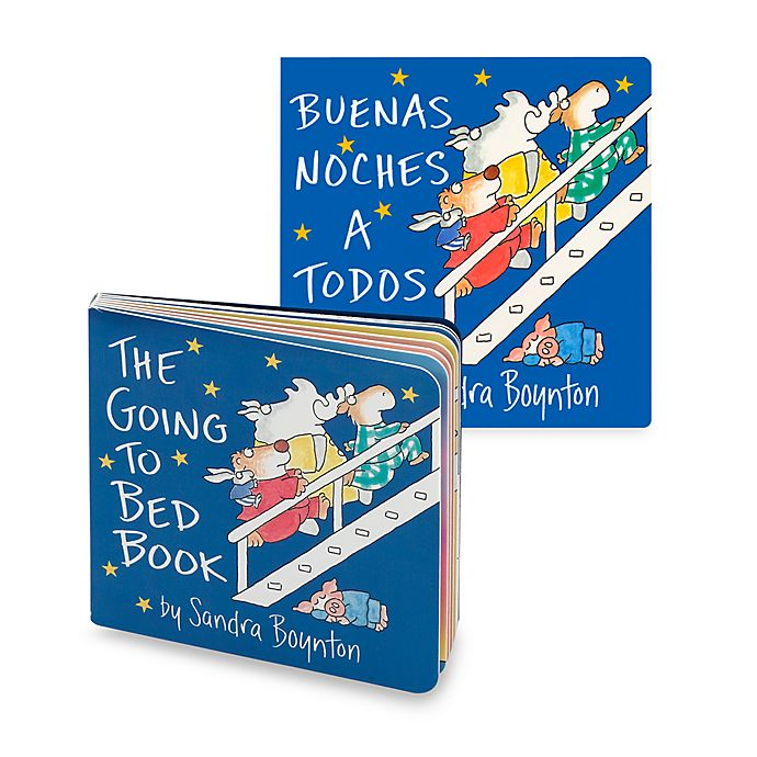 Alternate image 1 for Going to Bed Book (English and Spanish Versions)