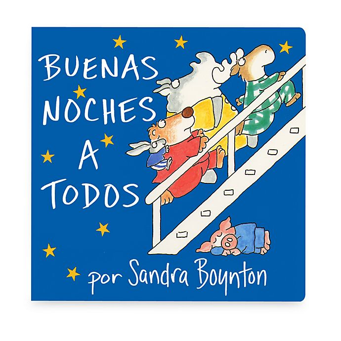 Alternate image 1 for Buenas Noches a Todos (Spanish Translation of Going to Bed Book)